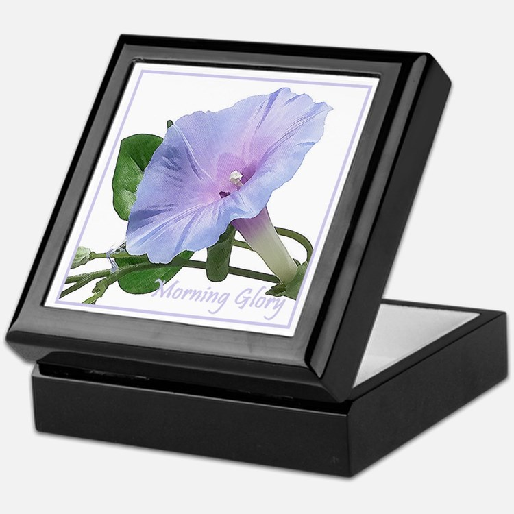 Morning Glory Keepsake Box