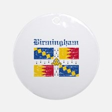 Birmingham flag designs Ornament (Round)