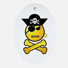 Pirate Day Ornament (Oval)