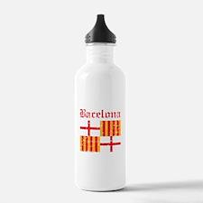 Bacelona flag designs Water Bottle