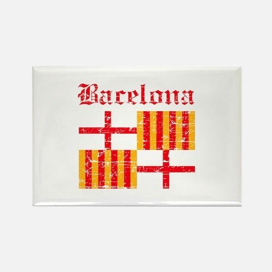 Bacelona flag designs Rectangle Magnet
