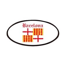 Bacelona flag designs Patches