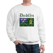 Dublin flag designs Sweatshirt
