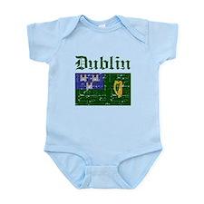 Dublin flag designs Infant Bodysuit