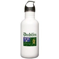 Dublin flag designs Water Bottle