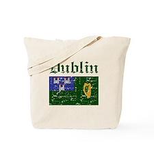 Dublin flag designs Tote Bag