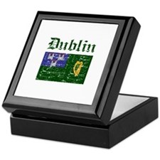 Dublin flag designs Keepsake Box