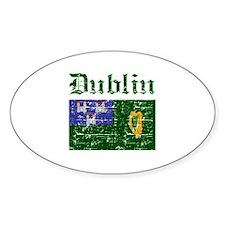 Dublin flag designs Decal