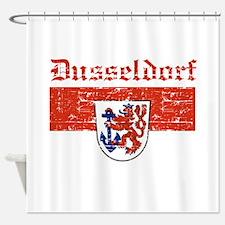 Dusseldorf flag designs Shower Curtain