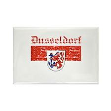 Dusseldorf flag designs Rectangle Magnet