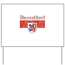 Dusseldorf flag designs Yard Sign