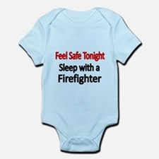Feel safe tonight. Sleep with a Firefighter Body S