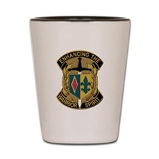 Army - DUI - 1st MEB - No Text Shot Glass