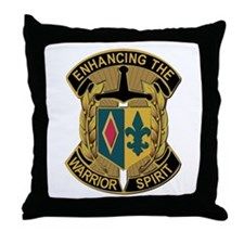 Army - DUI - 1st MEB - No Text Throw Pillow
