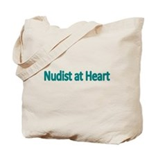 Nudist at Heart Tote Bag