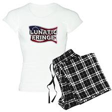 Lunatic Fringe Flag (txt) Pajamas
