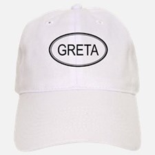 Greta Oval Design Baseball Baseball Cap