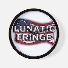 Lunatic Fringe Flag (sc) Wall Clock