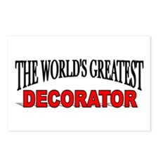 """""""The World's Greatest Decorator"""" Postcards (Packag"""