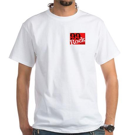 Original 99Rock White T-Shirt