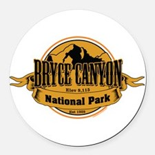 bryce canyon 3 Round Car Magnet