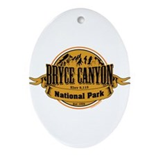 bryce canyon 2 Ornament (Oval)