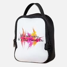 Its Not Easy Taekwondo Neoprene Lunch Bag