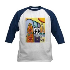 Day of the Dead Surfer Tee