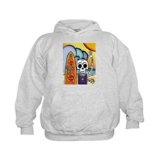 Day of the Dead Surfer Hoody