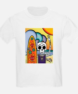 Day of the Dead Wearable & Fu Kids T-Shirt