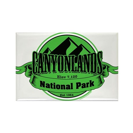 canyonlands 5 Rectangle Magnet (100 pack)