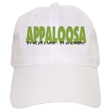Appaloosa IT'S AN ADVENTURE Baseball Cap