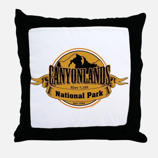 canyonlands 3 Throw Pillow