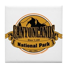 canyonlands 3 Tile Coaster