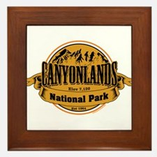 canyonlands 2 Framed Tile