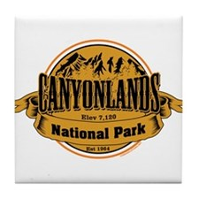 canyonlands 2 Tile Coaster