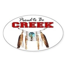 Proud to be Creek Decal