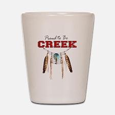 Proud to be Creek Shot Glass