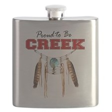 Proud to be Creek Flask