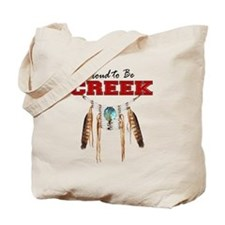 Proud to be Creek Tote Bag
