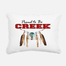 Proud to be Creek Rectangular Canvas Pillow