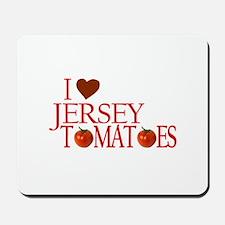 I Love Jersey Tomatoes Mousepad