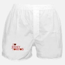 I Love Jersey Tomatoes Boxer Shorts