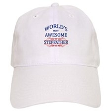 World's Most Awesome Stepfather Baseball Cap
