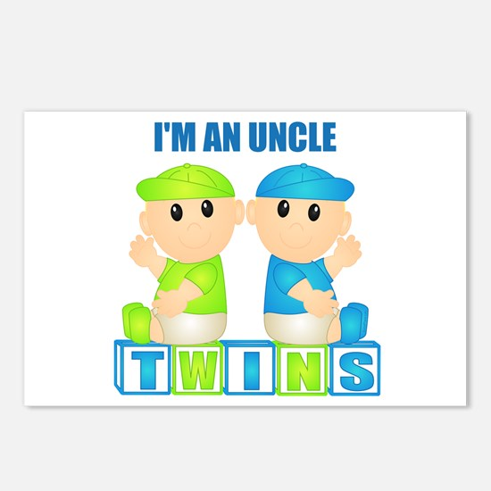 I'm An Uncle (BBB:blk) Postcards (Package of 8)