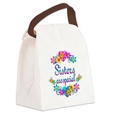 Sisters are Special Canvas Lunch Bag