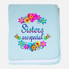 Sisters are Special baby blanket