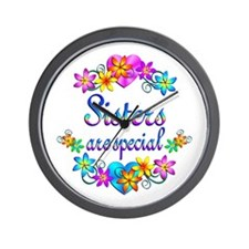 Sisters are Special Wall Clock