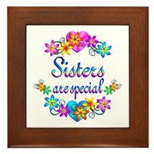 Sisters are Special Framed Tile