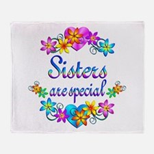 Sisters are Special Throw Blanket